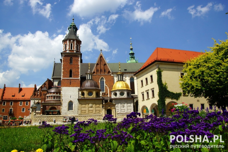 Wawel Cathedral,The Cathedral Basilica of Sts. Stanislaw and Vaclav on the Wawel Hill in Cracow