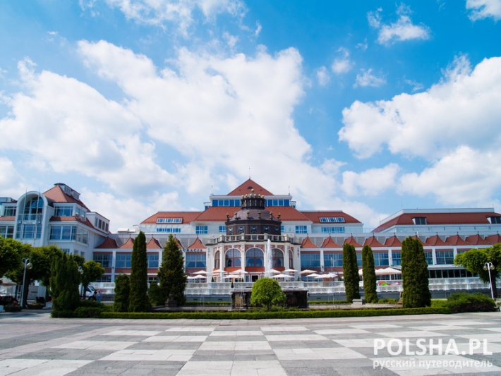 Old spa house, Sopot, Poland