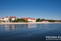 Baltic sea coast in Poland, Sopot