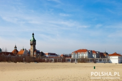 Beach Resort in Sopot, Poland.