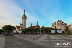Sopot in the morning
