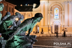 Warsaw Uprising Monument by Night #1